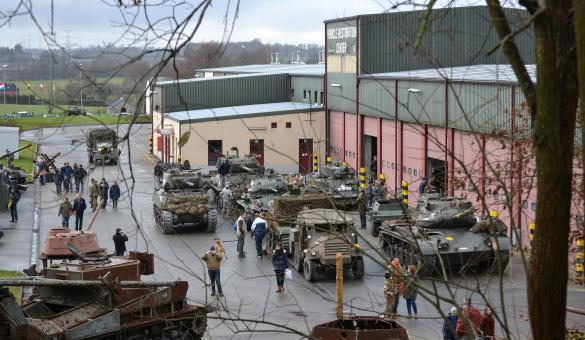 Bastogne Barracks - centre d'interprétation - Seconde Guerre Mondiale - Nuts - Bataille des Ardennes