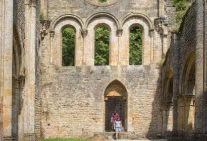 Ruines - Orval - couple