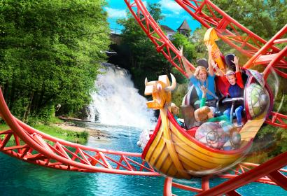 Discover Plopsa Coo, a family-friendly theme park in Stavelot, in the Ardennes,